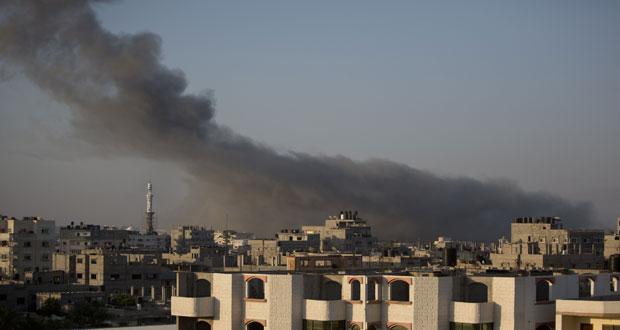 Gaza / Deux jeunes palestiniens sont tombés en martyr et d'autres