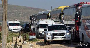 עשרות אוטובוסים נכנסו לכפריה ואלפועה כדי להוציא את התושבים הנצורים
