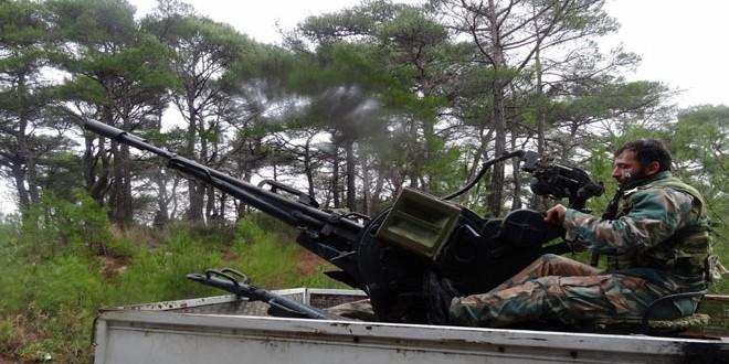Сводка контртеррористических операций Сирийской армии за 17 января