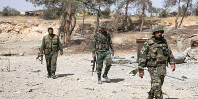 Сводка контртеррористических операций Сирийской армии за 22 сентября