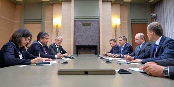 Вице-канцлер, министр экономики и энергетики ФРГ: Позиции Германии и России в вопросе защиты гуманитарных конвоев в Сирии совпадают