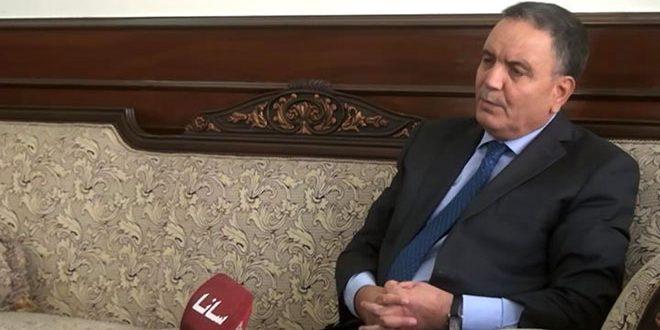 Посол Алжира в Дамаске: Алжир призывает к политическому урегулированию кризиса в Сирии