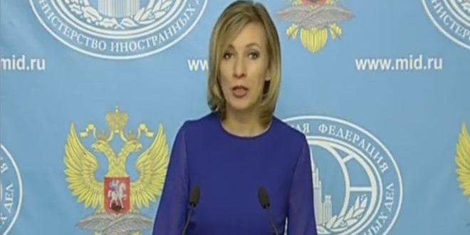 Захарова: Действия коалиции во главе с США в Сирии дестабилизируют обстановку в этой стране