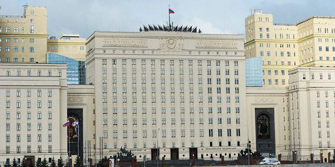 МО РФ: Три российских офицера получили ранения в городе Алеппо