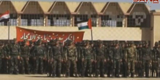 В провинции Алеппо на аэродроме Кверис состоялся выпуск курсантов военно-авиационного училища