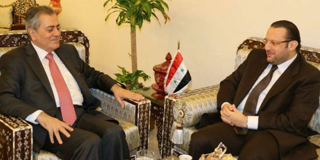 Таки-эд-Дин обсудил с Абдель-Каримом ситуацию в Сирии и регионе