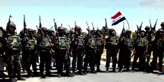 Сводка контртеррористических операций Сирийской армии за 11 октября