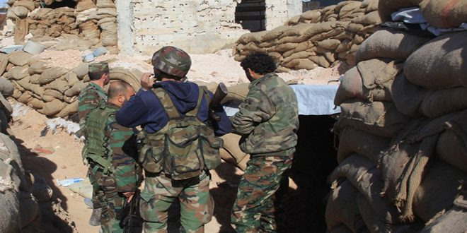 Сводка контртеррористических операций Сирийской армии за 18 октября