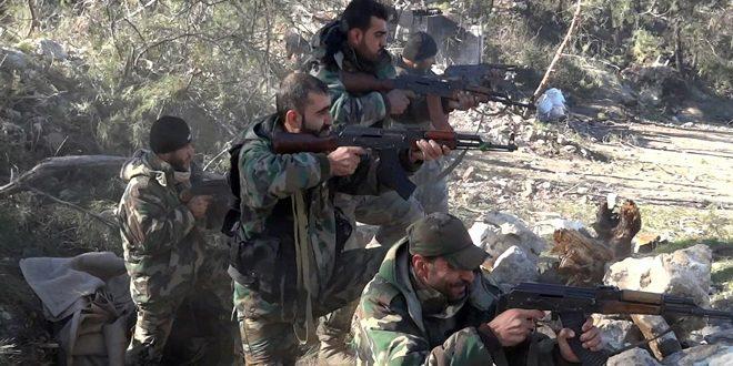 Сводка контртеррористических операций Сирийской армии за 26 октября
