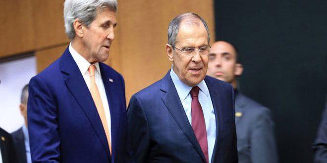 Лавров и Керри в телефонном разговоре обсудили пути сирийского урегулирования