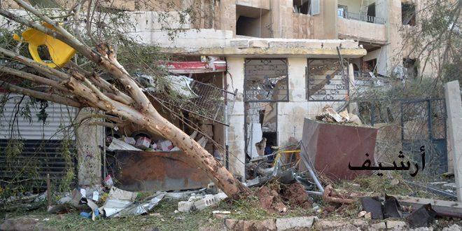 В результате террористических обстрелов района Аль-Хамдания в Алеппо погибли 4 и пострадали 14 мирных жителей