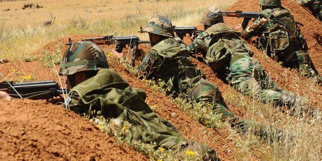 Сводка контртеррористических операций Сирийской армии за 21 октября