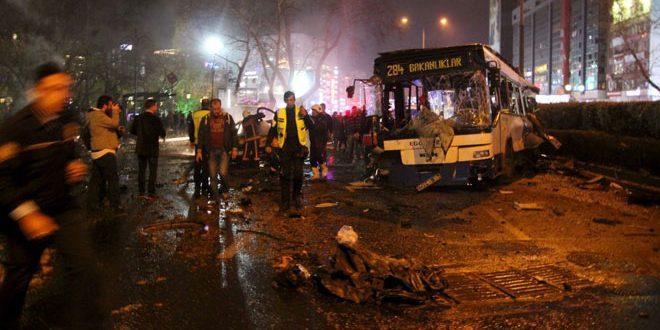 В Турции при взрыве заминированного автомобиля погиб полицейский