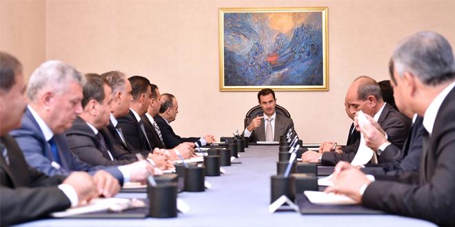 Аль-Асад указал на важную роль органов местного самоуправления в процессе экономического развития Сирии
