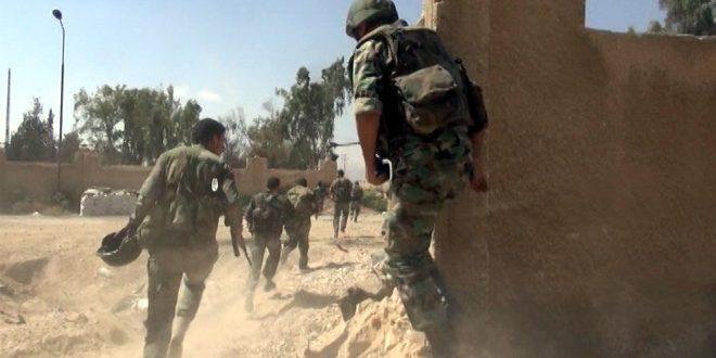 Сводка контртеррористических операций Сирийской армии за 31 октября