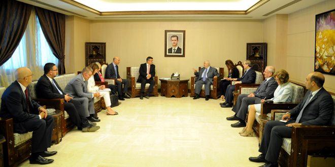 Аль-Муаллем: Сирия полна решимости полностью ликвидировать терроризм и достичь политического урегулирования кризиса