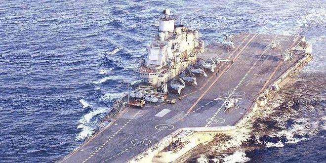 Российский авианосец «Адмирал Кузнецов» отправится к берегам Сирии