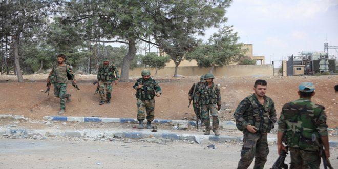 Сводка контртеррористических операций Сирийской армии за 30 октября