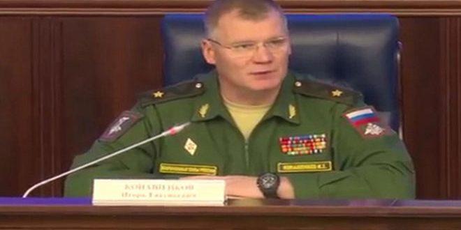 Минобороны РФ отчиталось о прекращении полётов над Алеппо
