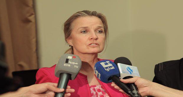 Представитель ВОЗ в Сирии высоко оценила работу управления здравоохранения в Алеппо