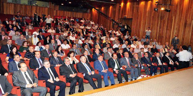 В Дамаске продолжила работу 6-я конференция Союза сирийских журналистов