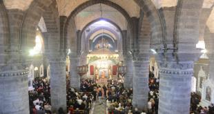 В Дамаске в Римско-католическом кафедральном соборе состоялся молебен за мир в Сирии