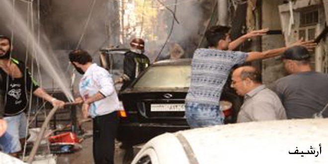 В Алеппо из-за обстрела террористами жилого квартала 3 человека погибли, среди которых 2 ребенка