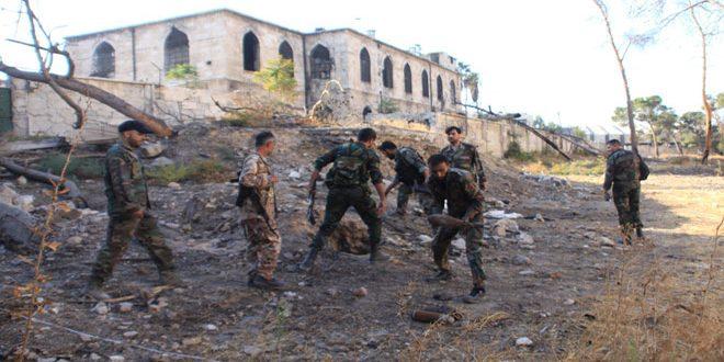 Сводка антитеррористических операций Сирийской армии за 8 октября