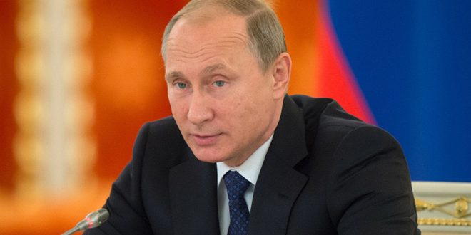 Путин: Россия считает, что как можно быстрее нужно перейти к политическому процессу урегулирования в Сирии