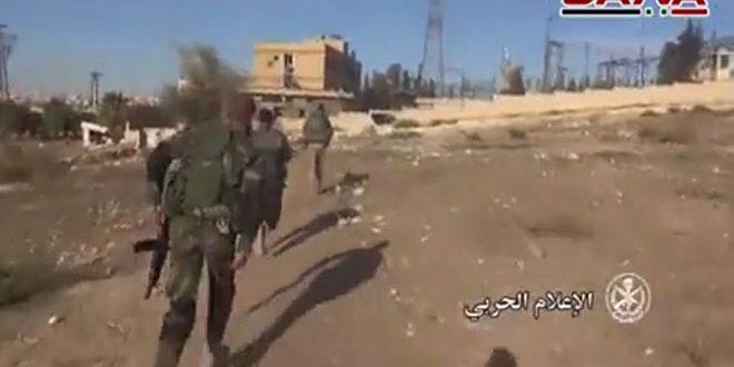 В провинции Алеппо армейские подразделения продолжают преследовать террористов