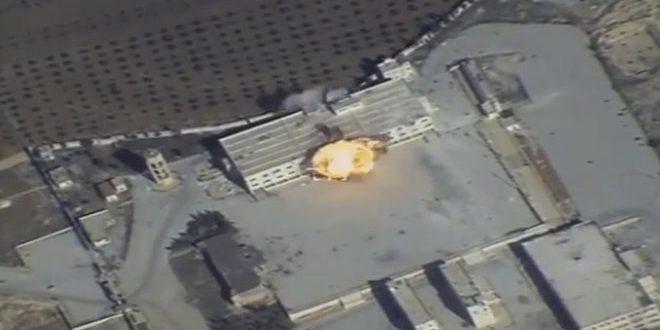 ВКС РФ атаковали позиции ДАИШ и «Джебхат Ан-Нусры» в Сирии крылатыми ракетами