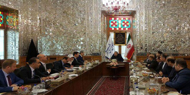 Лариджани на встрече с Аль-Мекдадом подтвердил поддержку Сирии иранским руководством