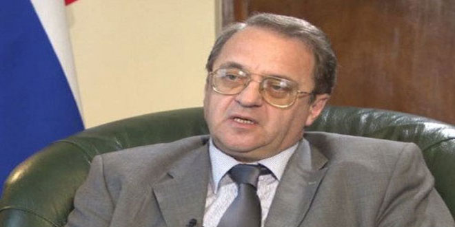 Богданов: ВКС РФдействуют в Сирии по просьбе законных властей