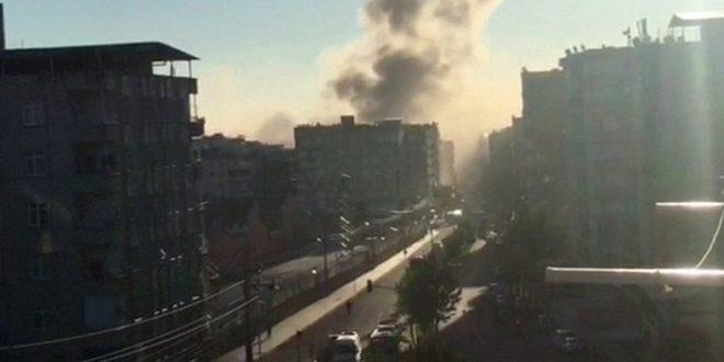 В турецком городе Диярбакыр прогремел взрыв, 1 человек погиб и 30 пострадали
