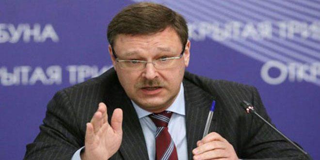 Косачев заявил о возможности сотрудничества с международной коалицией в Сирии
