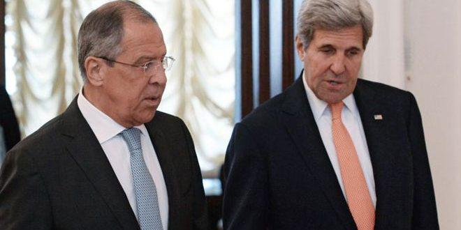 Лавров и Керри обсудили по телефону пути урегулирования кризиса в Сирии, межсирийский диалог и ситуацию в Алеппо