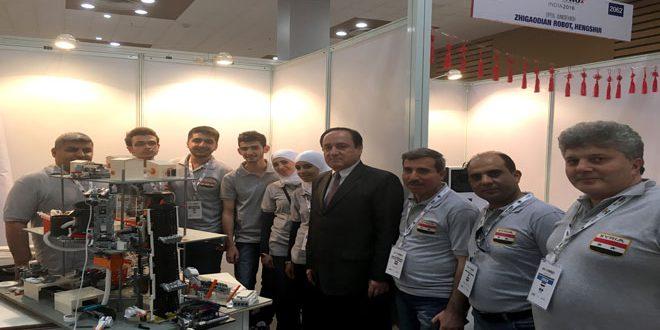 Сирия заняла второе место на Всемирной олимпиаде роботов WRO