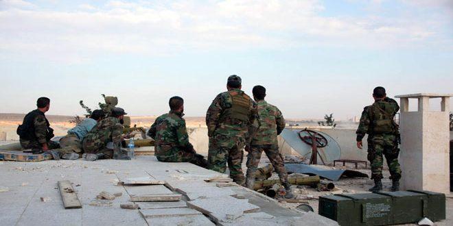 Сводка контртеррористических организаций Сирийской армии за 7 ноября