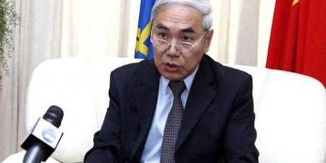 Сяоянь: Китай одним из первых призвал к политическому урегулированию кризиса в Сирии