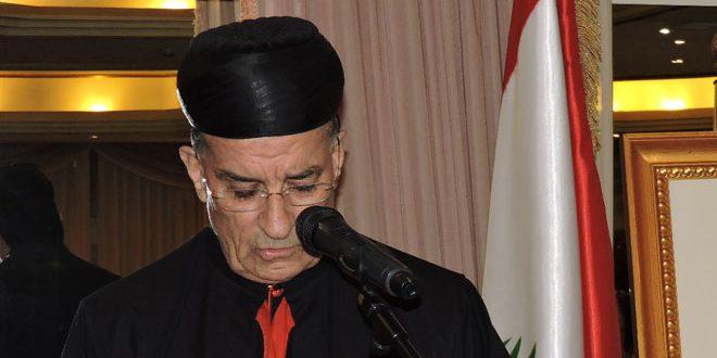 Патриарх Ар-Раи вновь призвал прекратить террористические войны в Сирии и регионе