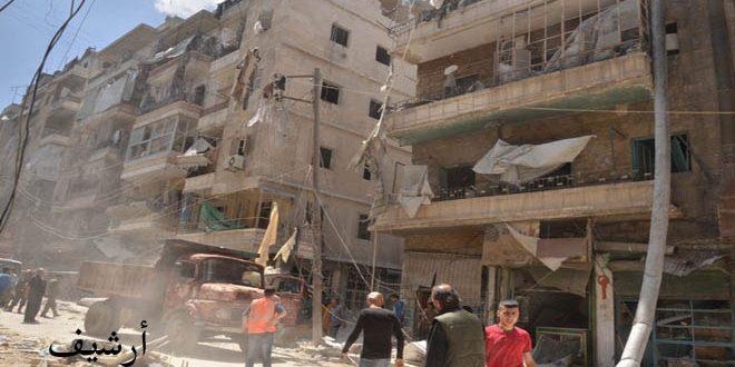 В Алеппо боевики обстреляли гостиницу, в которой расположена резиденция сотрудников ООН