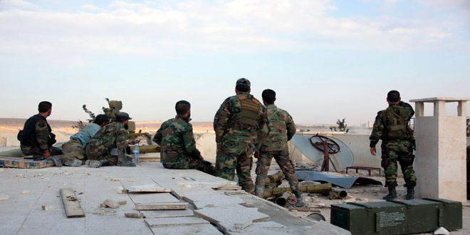 Сводка антитеррористических операций Сирийской армии за 1 ноября