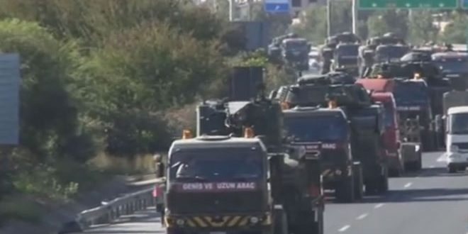 Турция направила дополнительное военное подкрепление в приграничную с Сирией провинцию Килис