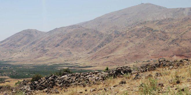 Авиация израильского агрессора нанесла удары по позиции Сирийской армии в провинции Кунейтра