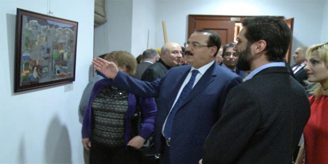 В Москве сирийские и российские художники организовали выставку
