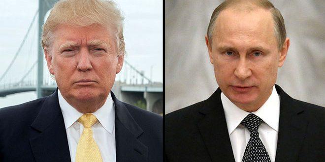 Путин с Трампом по телефонуобсудили пути урегулирования кризиса в Сирии и объединение усилий в борьбе с терроризмом