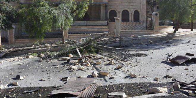 В Алеппо в результате обстрела террористами квартала Халяб Аль-Джадида погибли 2 и пострадали 7 человек