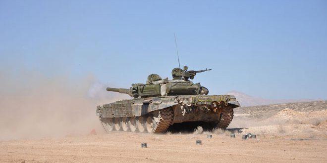Сводка контртеррористических операций Сирийской армии за 16 ноября