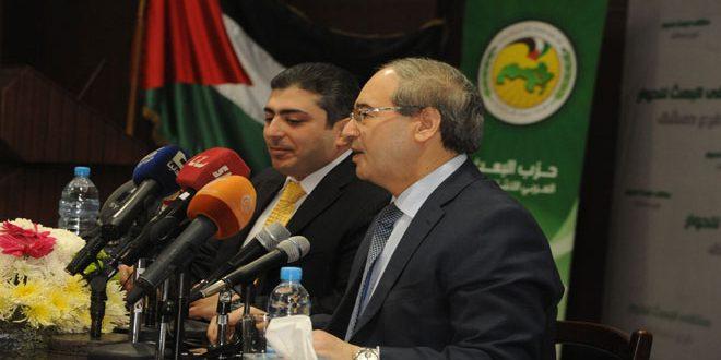 Аль-Мекдад: Сирийско-российские отношения достигли наивысшей степени солидарности