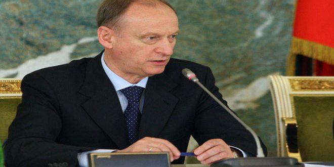 Патрушев: Уничтожение терроризма в Сирии требует коллективных усилий всего международного сообщества
